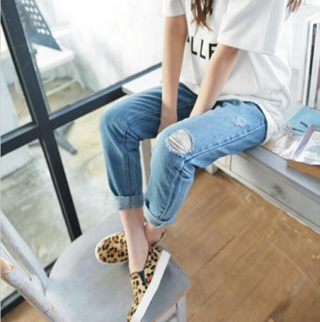 Приталенные джинсы для девушек