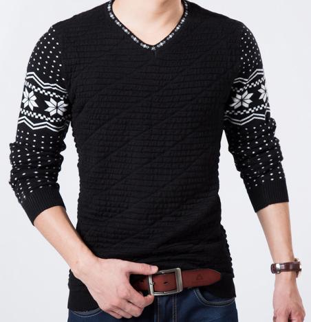 Осень и зима мода, мужской свитер