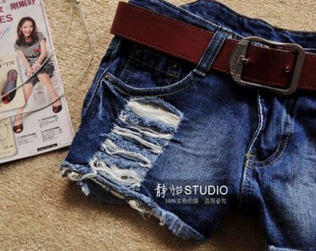 Модные джинсовые шорты для женщин