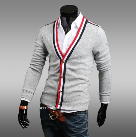 Осеняя новинка, трикотажный свитер для мужчин