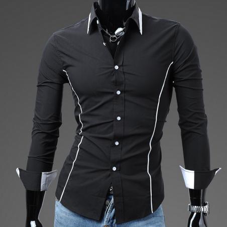 Тонкая стильная рубашка для мужчин