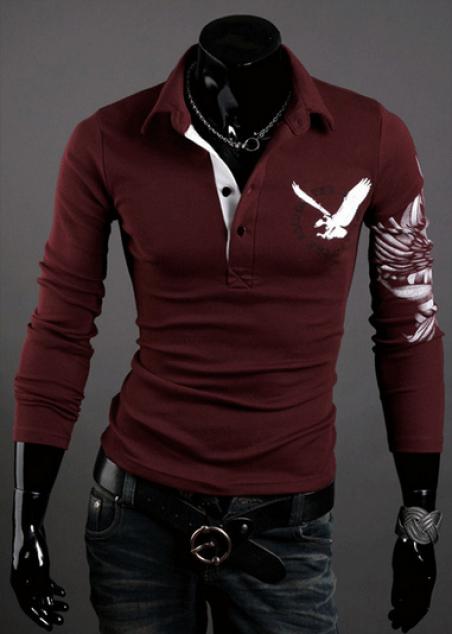 Мужская футболка с длинным рукавом, новый бренд