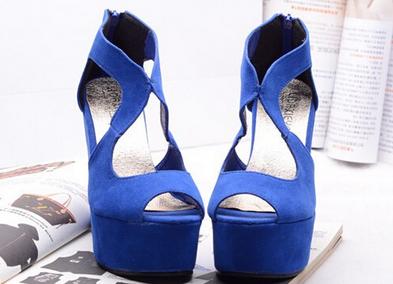 Новые водонепроницаемые туфли с высоким каблуком для женщин