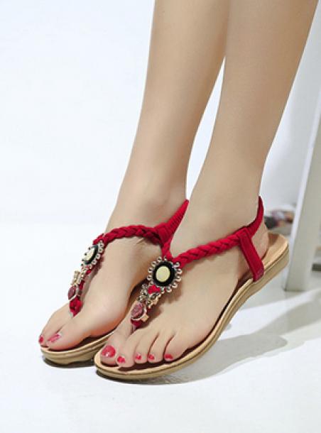Новые стильные сандали для женщин