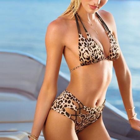 Леопардовый купальник для женщин