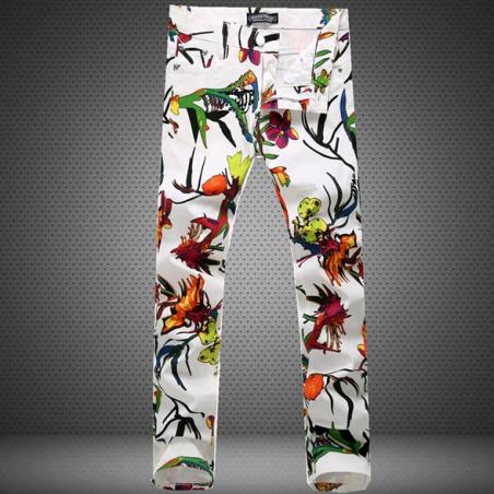 Летние стильные джинсы для мужчин