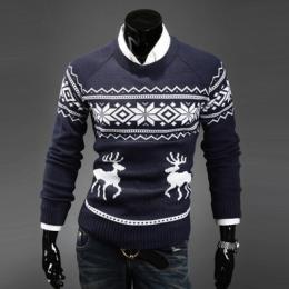 Тёплый свитер №1