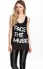 Музыкальная тонкая футболка