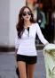Женская осенняя футболка с длинным рукавом