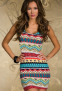 Элегантное лоскутное платье для женщин