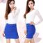 Высокая талия,  короткие юбки